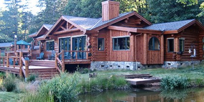 How to design a low maintenance log home
