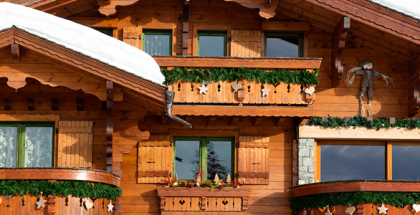 Brighten Up Your Log Home This Winter