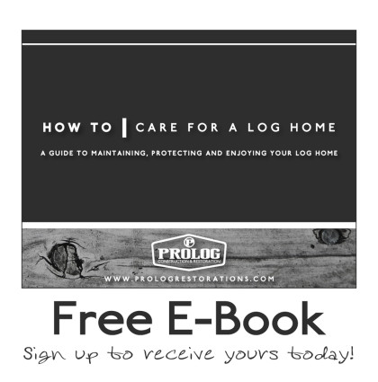 Free E-Book – How to care for your log home