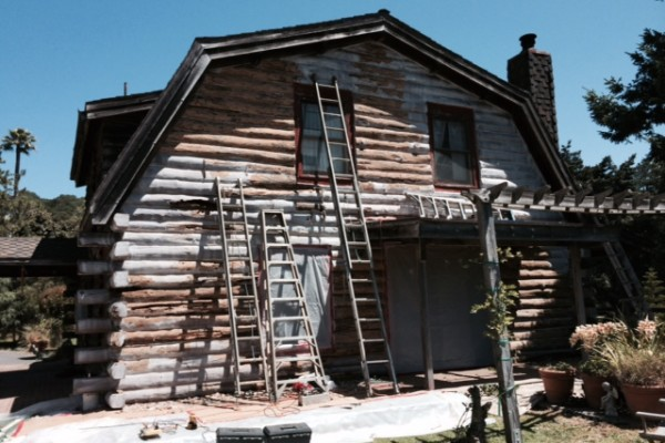Long Beach Log Home Restoration Contractors - ProLog Restorations - Log home restoration companies Long Beach California